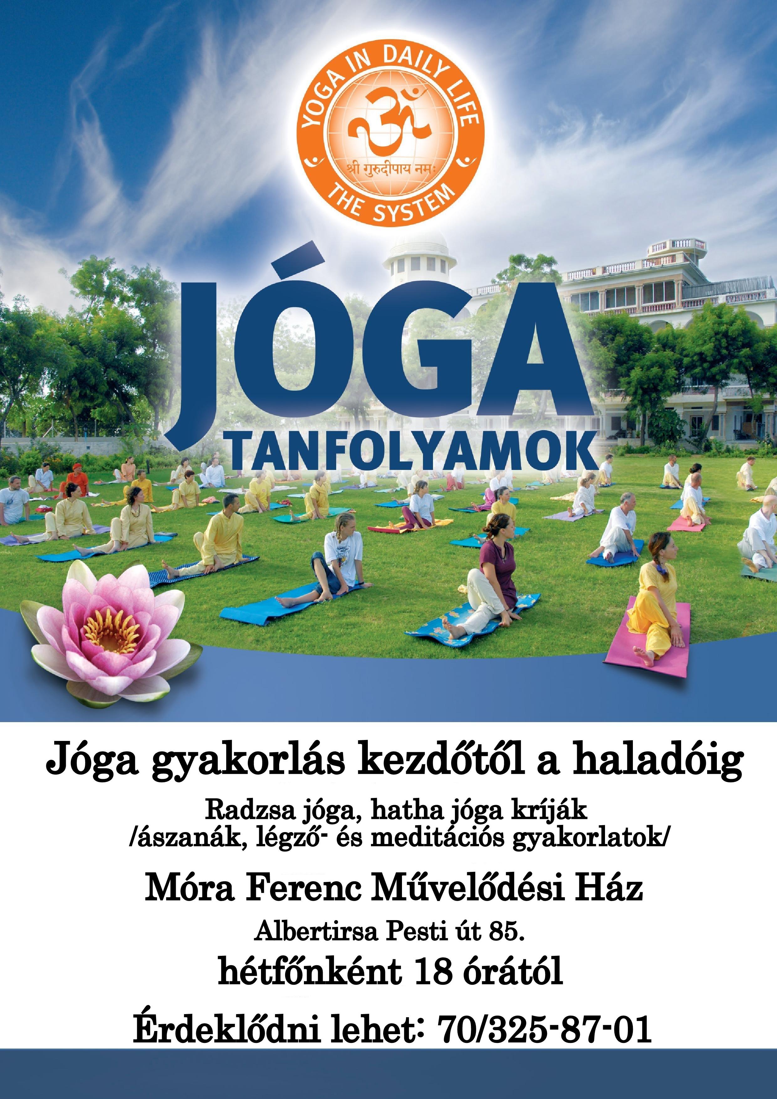 jóga plakát